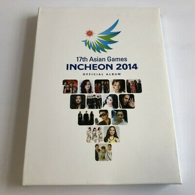 17th Asian Games Incheon 2014 2CD+DVD Deluxe Edition