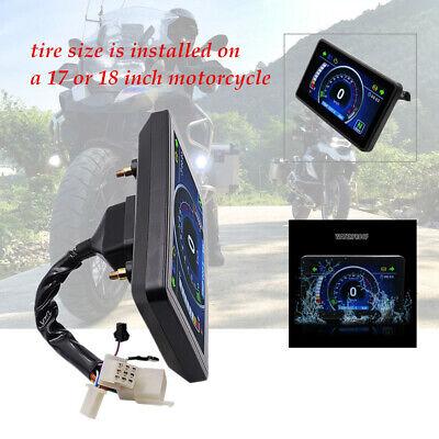 12V Motorcycle Speedometer Odometer Tachometer RPM Speed Meter Fuel LCD Gauge ×1