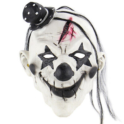 Scary Clown Props (Halloween Clown Mask Scary Masks Party Props For Masquerade Costume Latex)