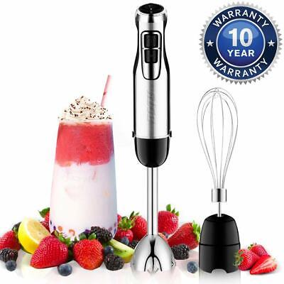BSTY 2-in-1 Hand Blenders Set 15-Speeds Powerful Immersion B