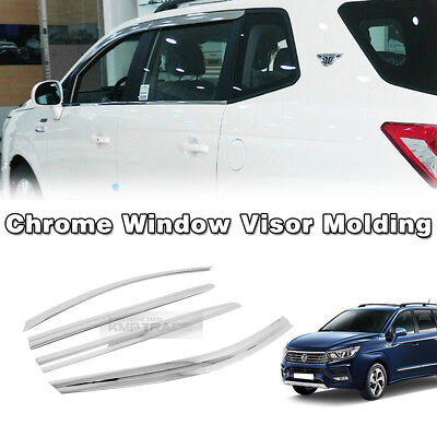 Chrome Window Sill C Pillar Molding 2p 1set For 11 12 Ssangyong Korando C