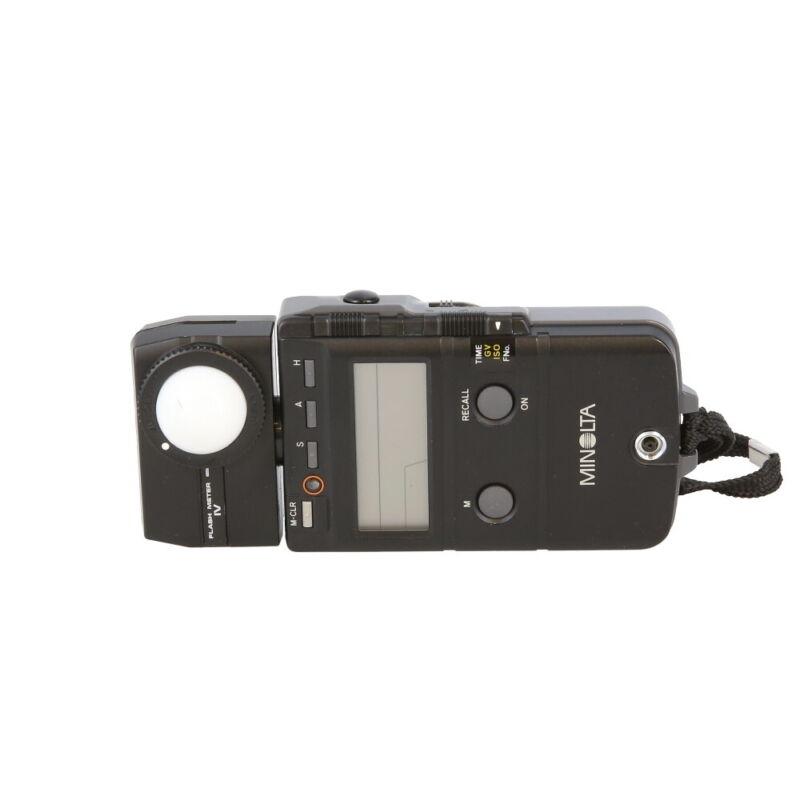 Minolta Flash Meter IV (Ambient/Flash) EX