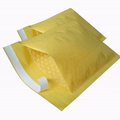 PADDED BUBBLE LINED ENVELOPES - 3 Pack Size E 240 MM x 270 MM