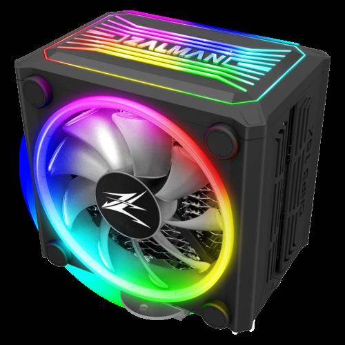 ZALMAN CNPS16X BLACK CPU Heatsink Cooler FAN RGB LED Intel 1