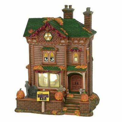 een Village MONSTER MASH PARTY HOUSE 6000659 Dept 56 BNIB (Monster Mash Halloween-party)