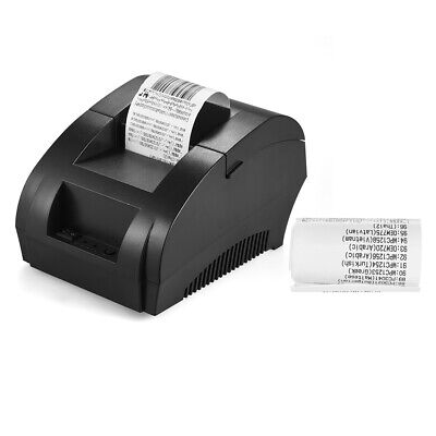 12v Usb Mini 58mm Posesc Cash Register Thermal Dot Receipt Printer High Y7l8