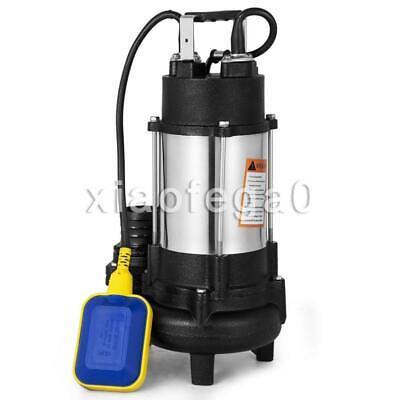 Vevor VD-750F Centrifugal Grinder Sewage Sump Pump, 1 Phase,