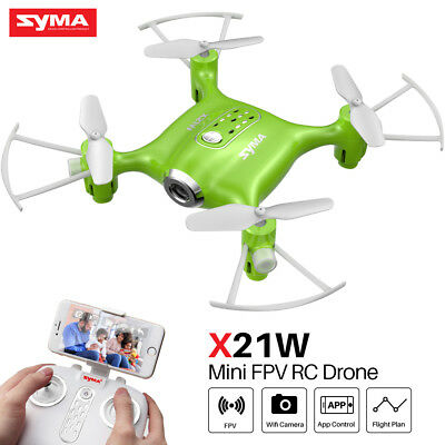 SYMA X21W FPV WiFi Camera Drone RC Quadcopter Mini Helicopter Kids Best Gift US