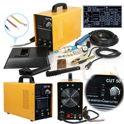 Portable Electric Digital Plasma Cutter Cut50 110220v Compatible Accessories