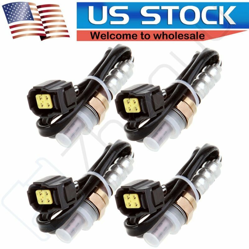 4pcs Oxygen Sensor Upstream /& Downstream O2 for 2000-02 Chevrolet Silverado 1500