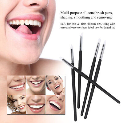 5pcs Dental Adhesive Composite Resin Cement Porcelain Teeth For Dentistry Supply