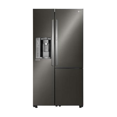LG LSXS26366D 26.1CF Side by Side Refrigerator Black Stainless Steel