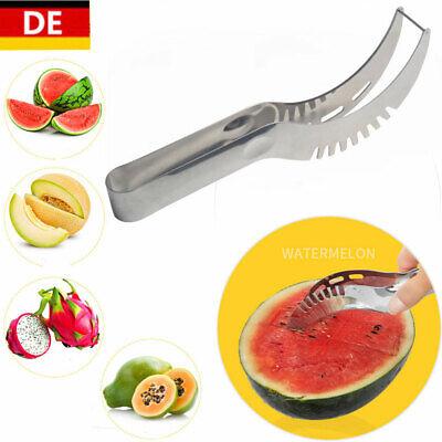 Wassermelonen Messer Obstmesser Küchemesser Hobel Watermelon Slicer Knife Cutter Slicer