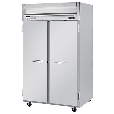 Beverage Air Hf2-1s 52-inch Two Section Solid Door Reach-in Freezer Nsf Ul C
