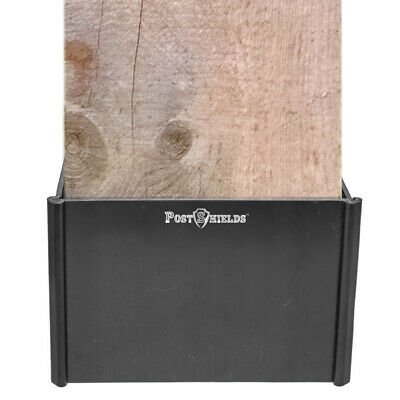 Install Mailbox Post - Post Shields Mailbox & Fence Post Protector Easy to Install 6x6x4