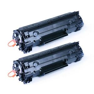 2 Pack Black Toner Cartridge For Canon 128 3500B001AA ImageClass D530 MF4770n