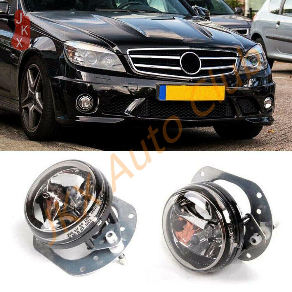 1pair Set of LED Daytime Running Light LED lamp DRL for W204 Cclass C300 Sport C63 AMG 2007-2012