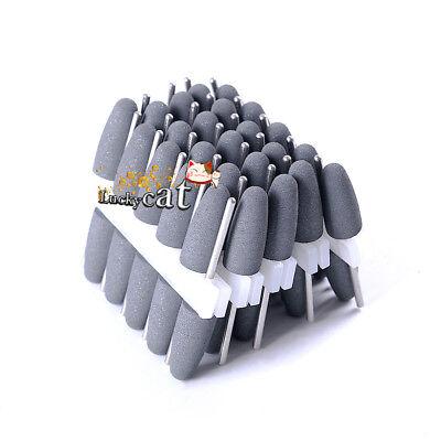 Lab Equipment 50Pcs Dental Silicone Polishers Resin Base Acrylic Polishing Burs