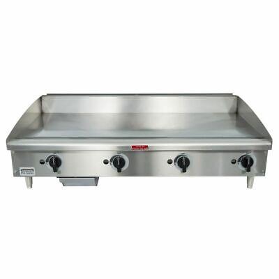 Toastmaster Tmgm48 48 Manual Gas Griddle W 34 Plate 80000 Btu