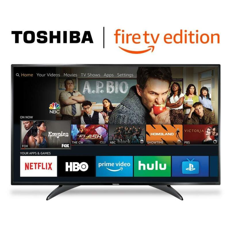 """CYBER WEEK DEAL # 32"""" inch Smart LED TV 720p HD Toshiba - Fire TV Edition"""