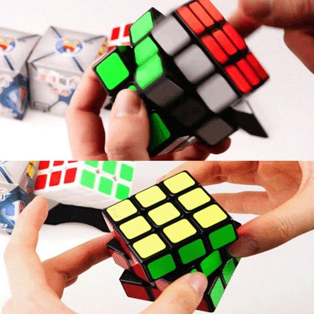 Zauberwürfel Speed Cube 3X3 Original Super robust mit lebendigen Geschenk