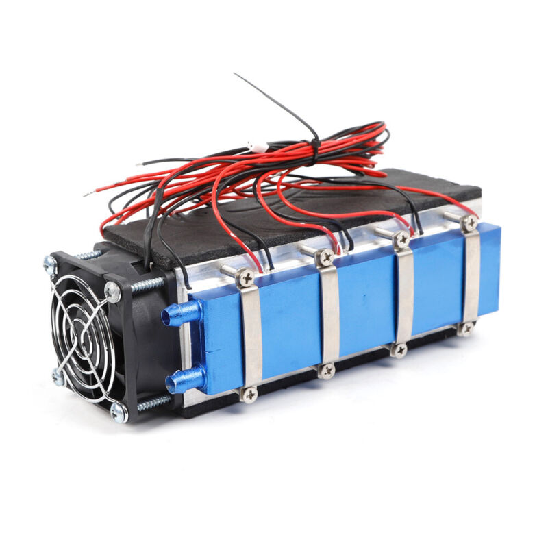 576w DIY Cooler Thermoelectric Peltier Module Cooler Air Cooling Device 8-Chip
