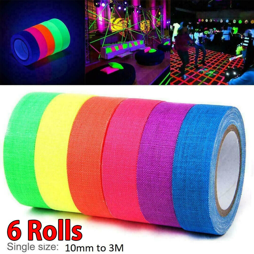 Home Decoration - 6X Luminous Tape Waterproof Self-adhesive Glow In The Dark Safe Stage Home Decor
