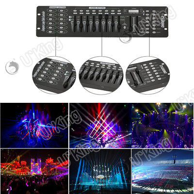 U`King Stage Lighting Console Controller 192CH DMX512 DJ Disco Party Effect Pub