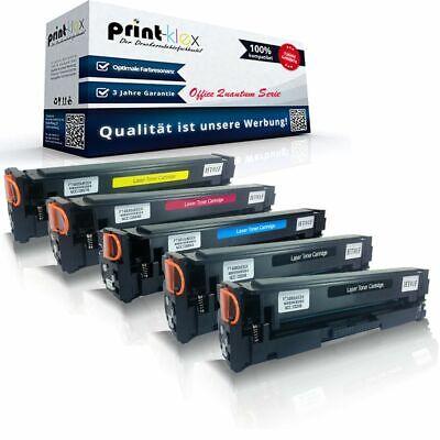 5x Druckertoner kompatibel für HP ColorLaser Jet ProM277dw