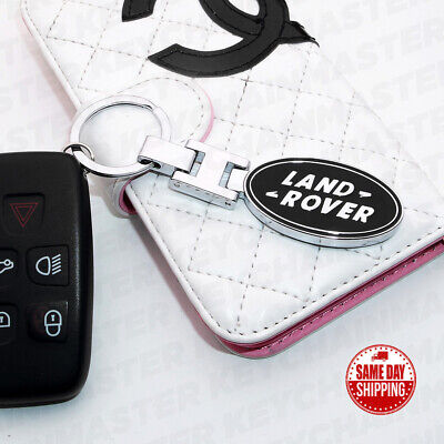 3D Land Rover Logo Sport  Alloy Car Home Key Keychain Ring Decoration Gift SVR