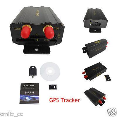 Vehicle Car Gps Sms Gprs Tk103a Tracker Real Time Tracking Device Syatem