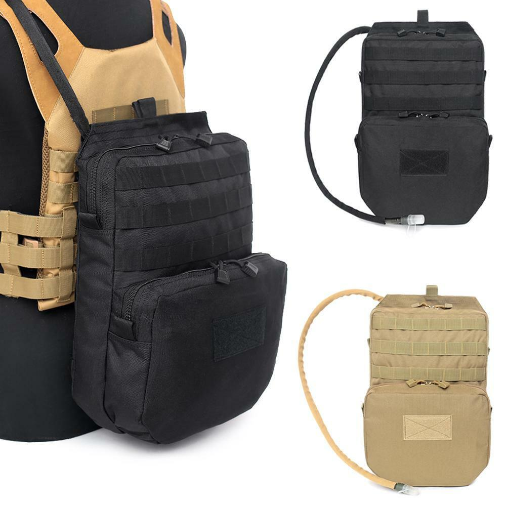 Outdoor 3L Water Bladder Hydration Backpack Pack Molle Hiking Camping Bag US Camping & Hiking