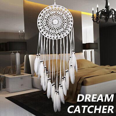 Large Dream Catcher Knitted Indian Dreamcatcher Handmade Bedroom Home Hanging J