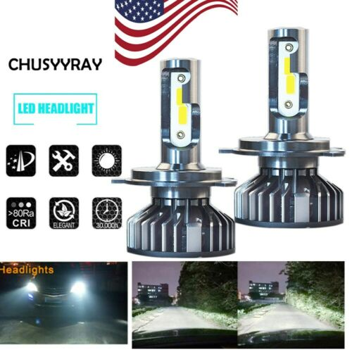 H4 LED Headlight Bulb For Arctic Cat Proclimb M1100 M800 Procross F1100 F800 XF