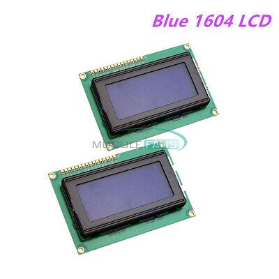 2pcs Blue 5v Lcd 1604 16x4 Character Blacklight Lcd Display Module Lcm Arduino