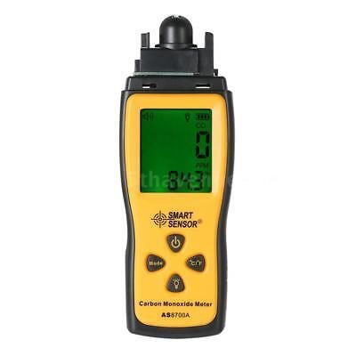 SMART SENSOR Hand-Kohlenmonoxid-Messgerät CO Gas-Tester Monitor Lehre LCD T5C0