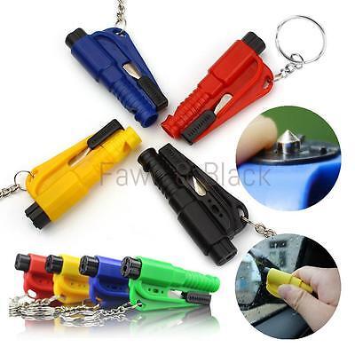 Emergency Safety Escape Car Window Glass Breaker Hammer Seat Belt Cutter Whistle