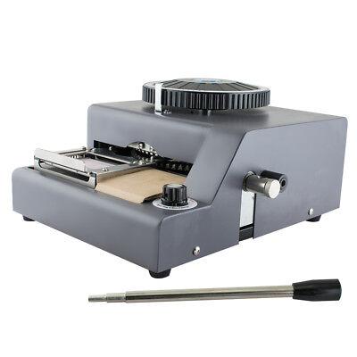 72-character Manual Stamping Machine Pvcidcredit Card Code Printer Embossing