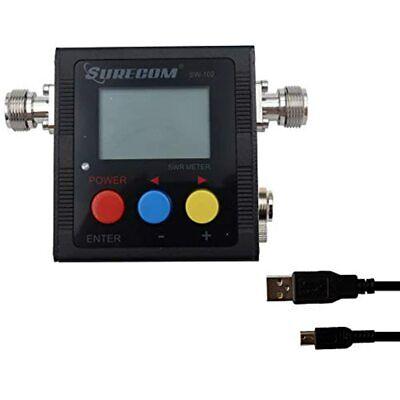 Gam3Gear Surecom SW-102S SO239 Connector Digital VHF UHF 125