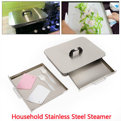 Layer Stainless Steel Steamer Steam Tray Food Steaming Machine cookers HOT
