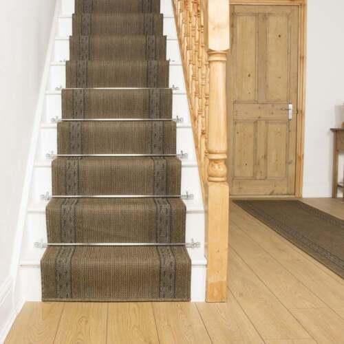 griechisch fret dunkelbraun flachgewebe sisal stil teppich. Black Bedroom Furniture Sets. Home Design Ideas