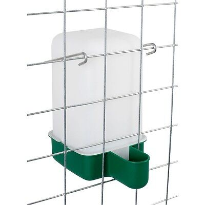 1 Lt  Cage Drinker - Chicken/Quail/Pigeon/Chick Drinker with bracket