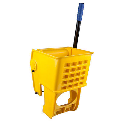 Janitorial Yellow Replacement Mop Bucket Wringer