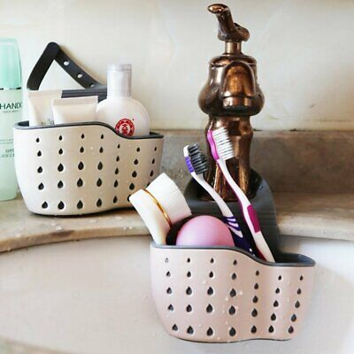 Kitchen Sink Sponge Holder Hanging Strainer Organizer Storage Drain Basket USA