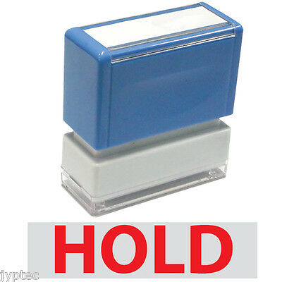 Hold - Jyp Pa1040 Pre-inked Rubber Stamp Red Ink