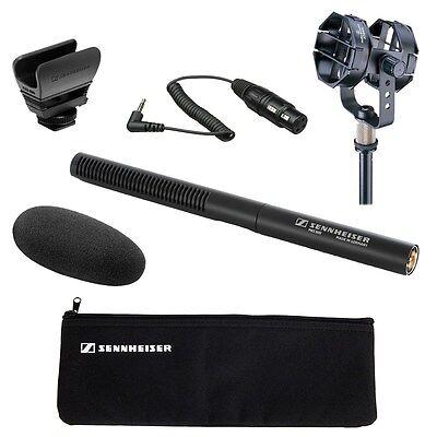 - Sennheiser MKE 600 Shotgun Mic + Audio-Technica AT8415 Shock Mount + KA Cable