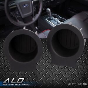 2pc F150 Cup Holder Inserts Front Console Replacement fits Expedition Navigator