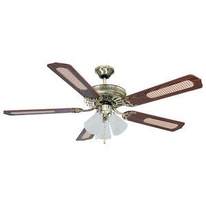 lampadario con ventola : ... soffitto 65W 118cm 5 pale con luci lampadario per casa I02548 eBay