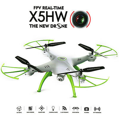 Syma X5hw Fpv 4Ch Rc Quadcopter Drone With Hd Wifi Camera Hover Function Usa