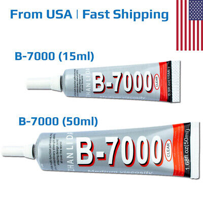 B-7000 Clear Industrial Strength Adhesive Glue 15ml 50ml for Phone Frame Jewelry Industrial Strength Glue
